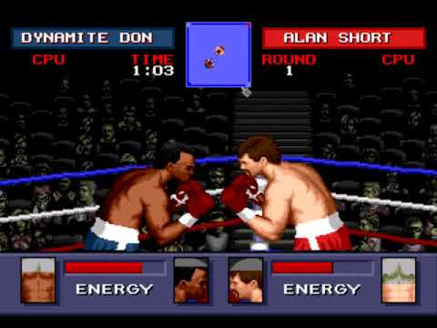 Evander Holyfield's Real Deal Boxing-Dynamite Don vs Alan Short