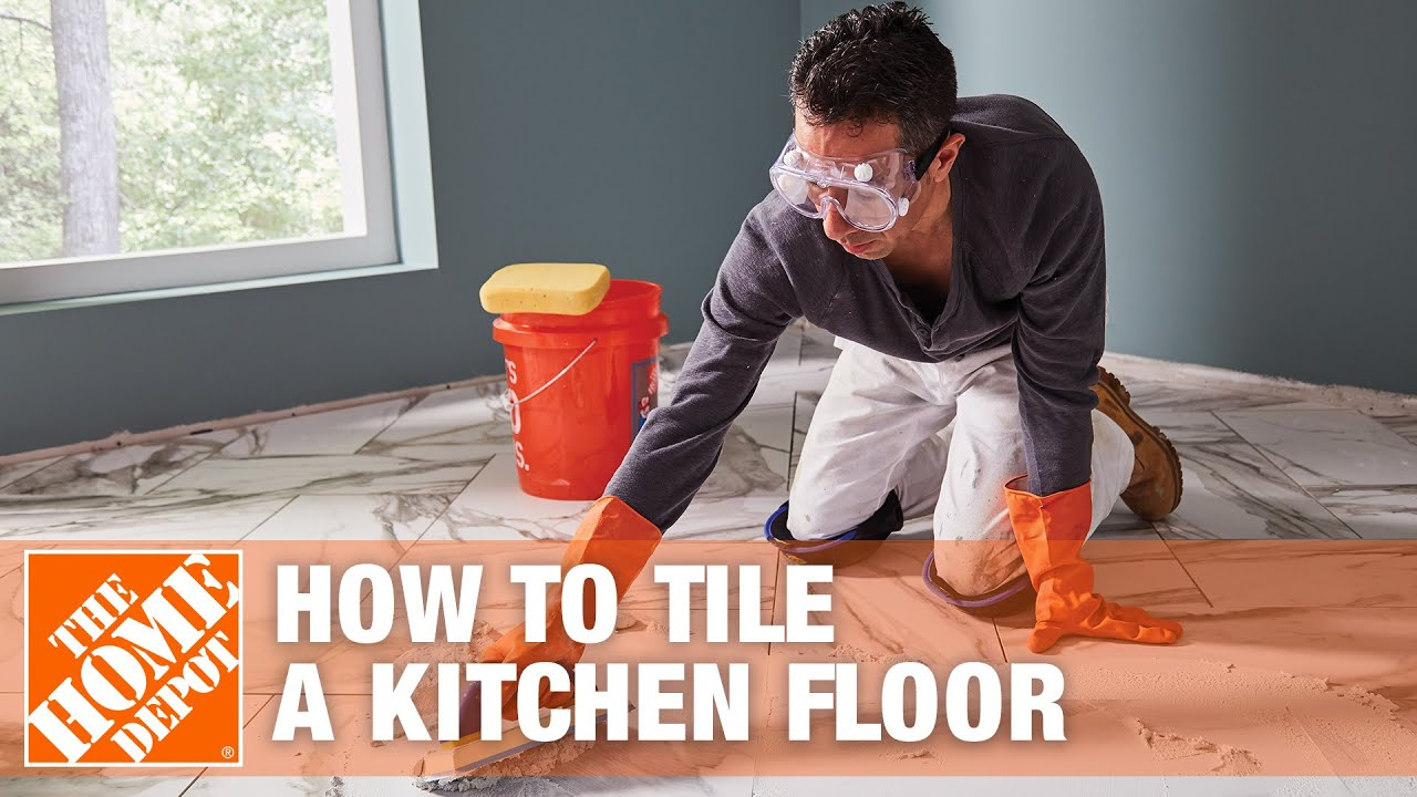 How To Tile A Kitchen Floor Part 1
