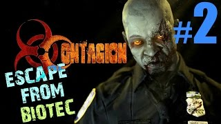 Contagion Gameplay Part 2 | Escape from Biotec | No commentary Let
