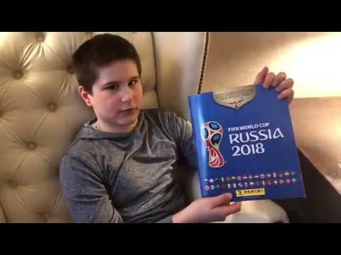 Panini album FIFA World Cup Russia 2018-Recenzija