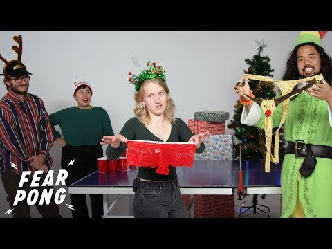 Cut Holiday Party Fear Pong!   Fear Pong   Cut