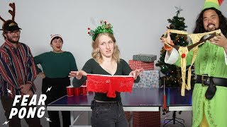 Cut Holiday Party Fear Pong! | Fear Pong | Cut