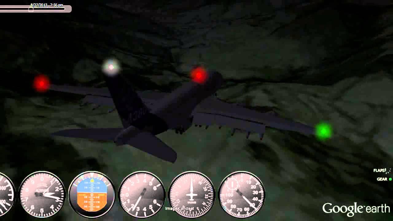 GEFS Flight Simulator Crash: American Airlines Flight 965 ...