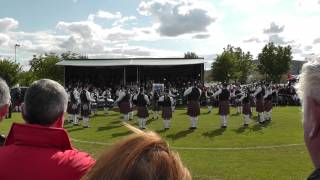 Ravara Pipe Band - Ards 2012