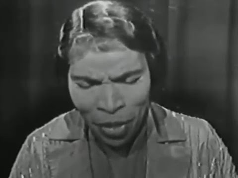 Marian Anderson, He's Got the Whole World In His Hands, 1953 TV