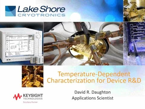 Temperature Dependent Characterization of Device Research and Development, with David Daughton