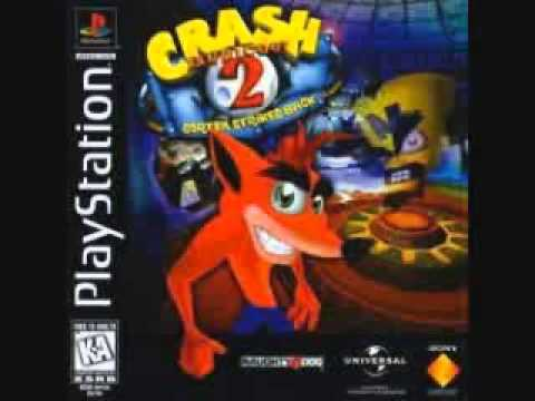 Crash Bandicoot 2  Snow Go, Snow Biz, Cold Hard Crash Skull Route Music 10 Hours
