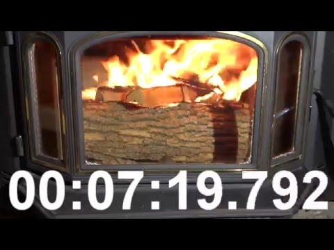 Fireplace - building a wood fire in a fireplace insert