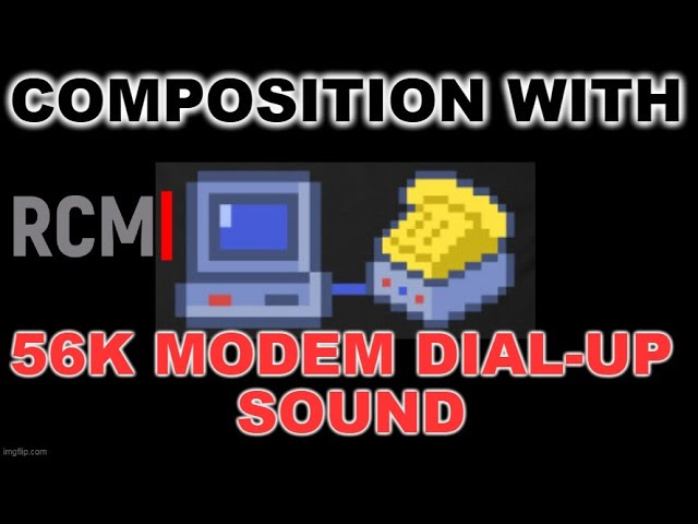 56k: A Modem-Inspired Song - A Song About Modem Handshakes