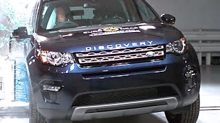 Land Rover Discovery Sport Crash Test Safety Rating 5/5 Stars New Land Rover LR2 CARJAM TV 2016