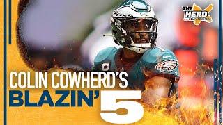 Blazin' 5: Colin Cowherd's picks for Week 2 of the 2021 NFL season | THE HERD screenshot 1