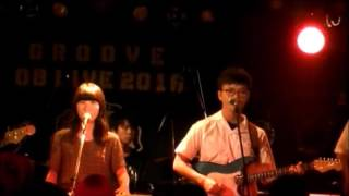 groove OB・OGライブ 2016 2バンド目 awesome city club