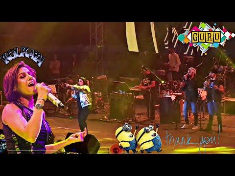 Crazy Kiya Re - Sajna Ji Vaari Vaari - Ishq Sufiyana LIVE by Sunidhi Chauhan @Kolkata Mp3