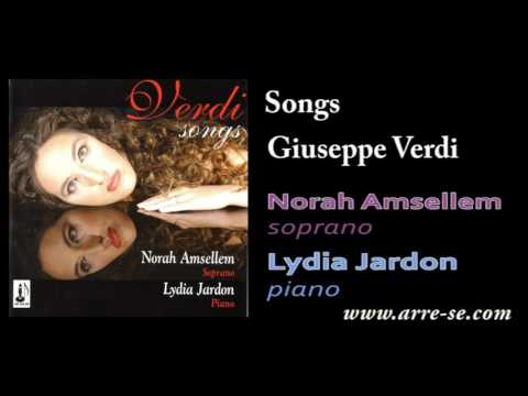 Verdi, Songs - Lydia Jardon, piano