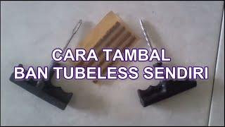 How To Repair Tubeless Tire ?