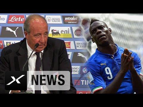 """Gian Piero Ventura: """"Es ist Balotellis Entscheidung""""   Italien - Uruguay   WM-Qualifikation"""