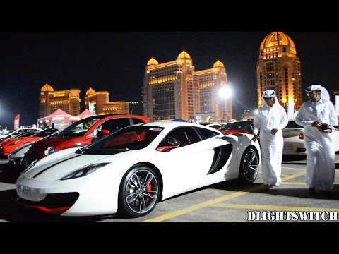 'Mawater' Group Car Gathering in Qatar