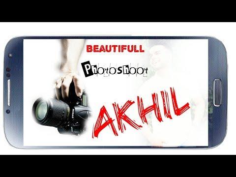 Beautifull Photoshoot // Akhil // Teri Khamiyaaan / Bob Music