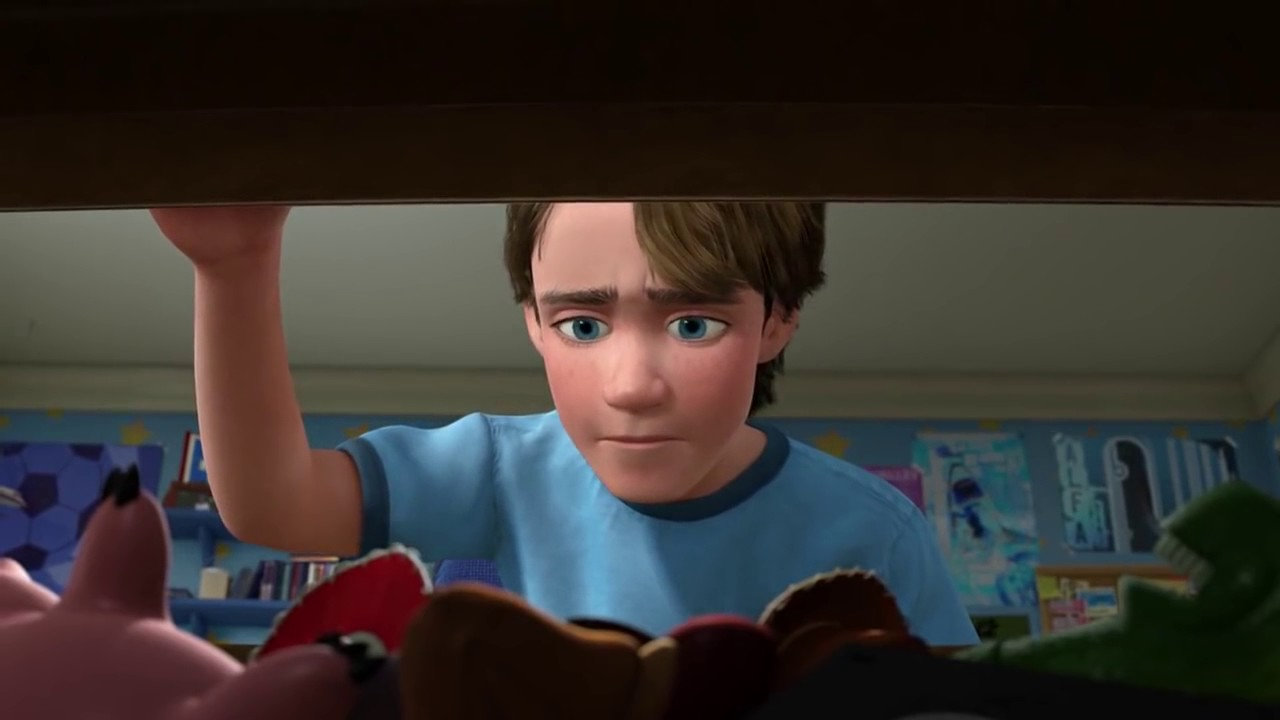 Toy Story 3 Andy Takes His Toys Away Youtube