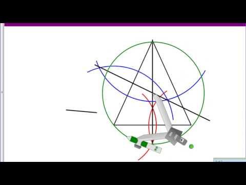Constructing a Circumscribed Circle