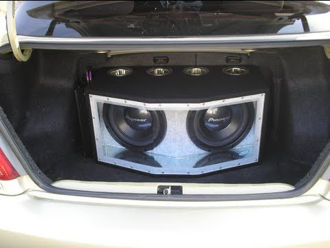 Bandpass Box Pioneer Subwoofer