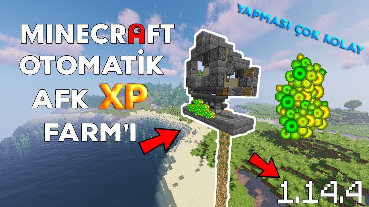 Minecraft OTOMATİK XP farm YAPIMI ÇOK KOLAY !!
