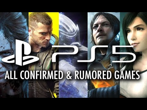 PlayStation 5: All CONFIRMED & Rumored Games Coming