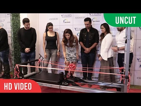 UNCUT - Yasmin Karachiwala New Fitness Center Launch | Gul Panag, Rehan Poncha