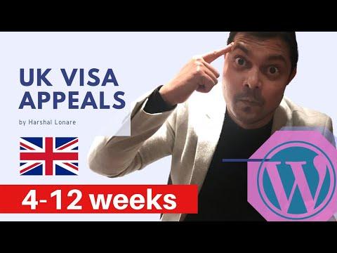 UK VISA APPEALS AND TIMELINES