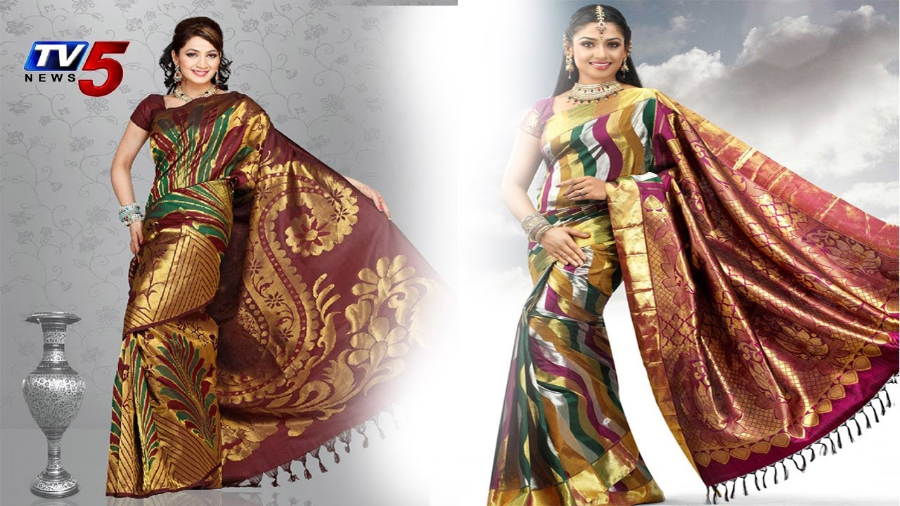 c6823d9e0c Collection Of Pattu Sarees With New Fancy Models | Snehitha : TV5 News