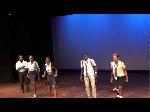 """Majah Bless performs """"Ambition"""""""" dub poem with DubShack"""