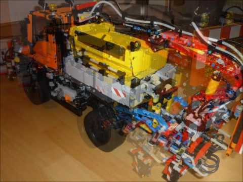 lego technic unimog u400 8110 winterdienst schneepflug. Black Bedroom Furniture Sets. Home Design Ideas