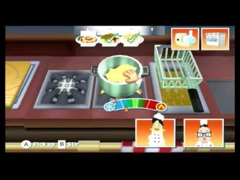Order Up Wii: Stuffolini's (Italian) Restaurant Gameplay. thumbnail