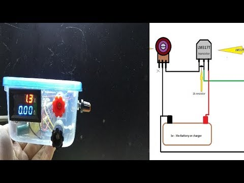 How to make Adjustable Voltage Power Supply LM317(part-1)