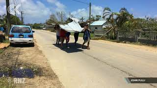 Lack of power, water hampering Tonga cyclone cleanup