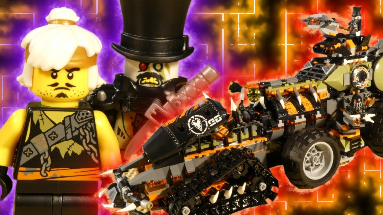 LEGO NINJAGO HUNTED - THE DIESELNAUT