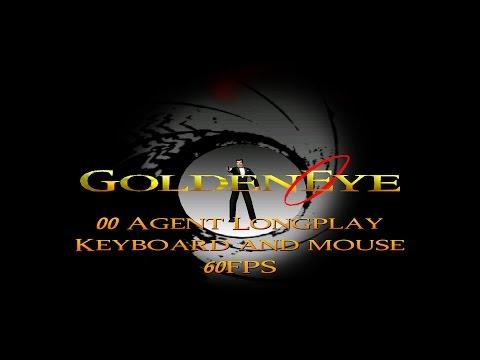 GoldenEye 007 N64 - 00 Agent Longplay (Mouse & Keyboard, 60FPS)