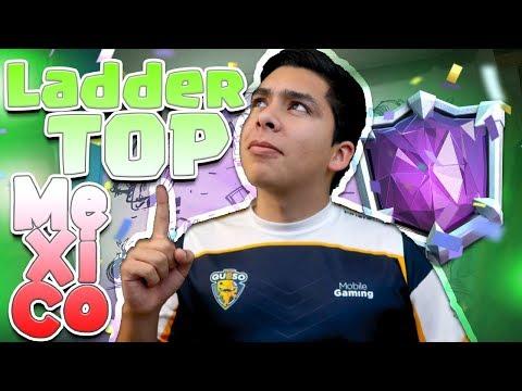 JUGANDO LADDER TOP MÉXICO Y TORNEO DE 10,000 GEMAS!! | CLASH ROYALE
