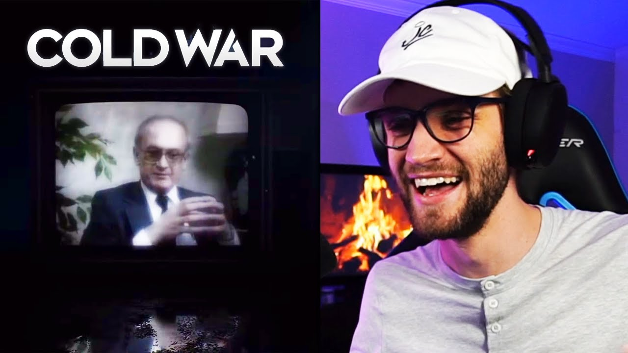 BLACK OPS COLD WAR TRAILER REACTION!! (Call of Duty 2020 Reaction)