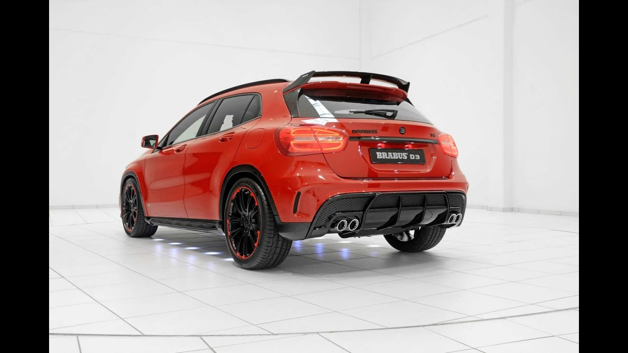 mercedes benz gla with amg sports package modified by. Black Bedroom Furniture Sets. Home Design Ideas