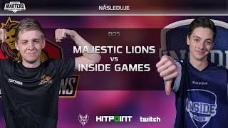 Majestic Lions vs Inside Games @ Hitpoint LEGENDS #2 GAME 1