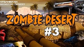 ZOMBIES in the Desert with AMAZING Weapons! (Pt 3)▐ Call of Duty World at War Custom Zombies Map/Mod