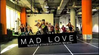 Zumba | Mad Love by Sean Paul & David Guetta ft. Becky G | Dance Fitness | Masterjedai Video