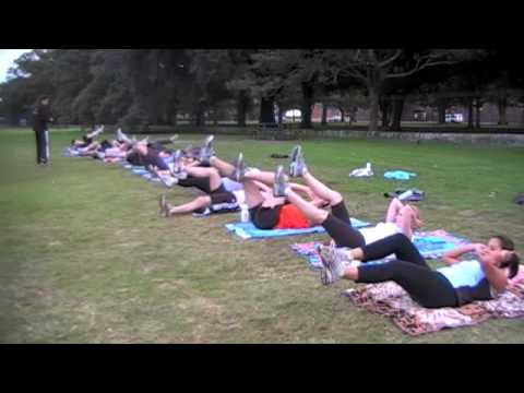 Group Personal Fitness Training Centennial Park, Sydney