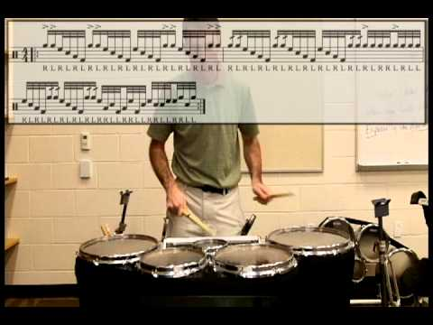 Tenor Drum Exercises from Hell #1
