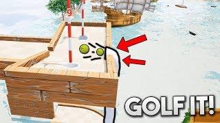 EL TUBO TROLL QUE TE SUCCIONA!! JAJAJA Golf It!
