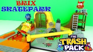 The Trash Pack: Brix Skatepark Building Toy Playset Fun Review, Cobi