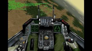 F 16 - AGGRESSOR - Moroccam Mission - Faze 4