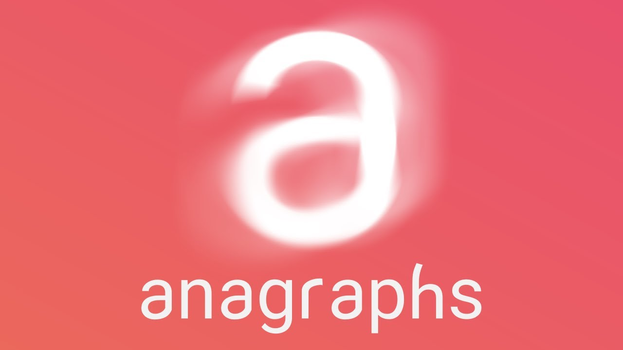 Anagraphs - a Non-Profit Word Game | Trailer