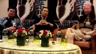 Donnie Yen and Mike Tyson exchange blows